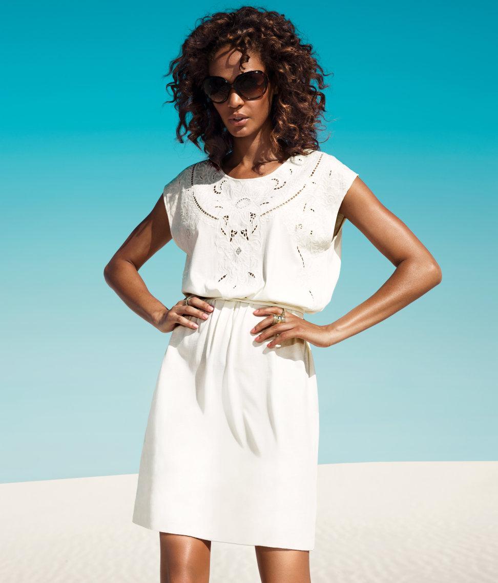 белые вещи на лето фото